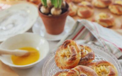 Mormorsbullar, med kardemumma och vaniljkräm!